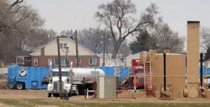 Geleton CO frack site