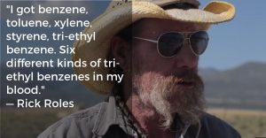 'benzenes in my blood'