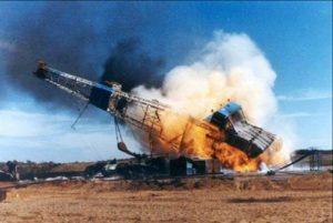 Gas rig explosion, WV