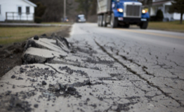 typical road damage